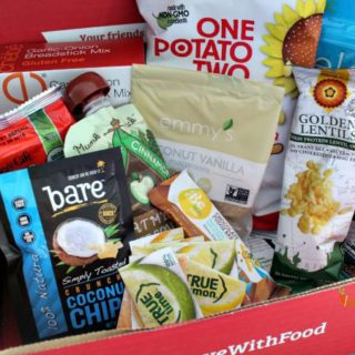 Love with Food – Gluten Free Monthly Box Subscription