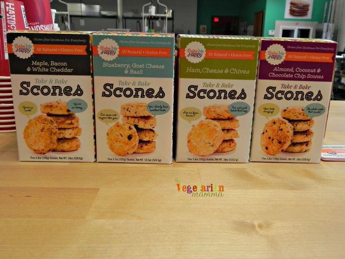 Bake Me Happy #scones #glutenfree #columbus #Ohio @vegetarianmamma.com