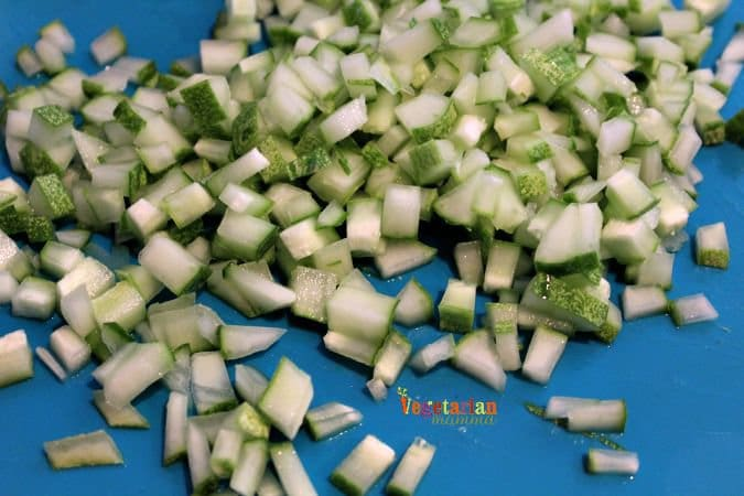 Cucumber Pea Salad #garden #glutenfree #summer #salad #cucumber @vegetarianmamma.com