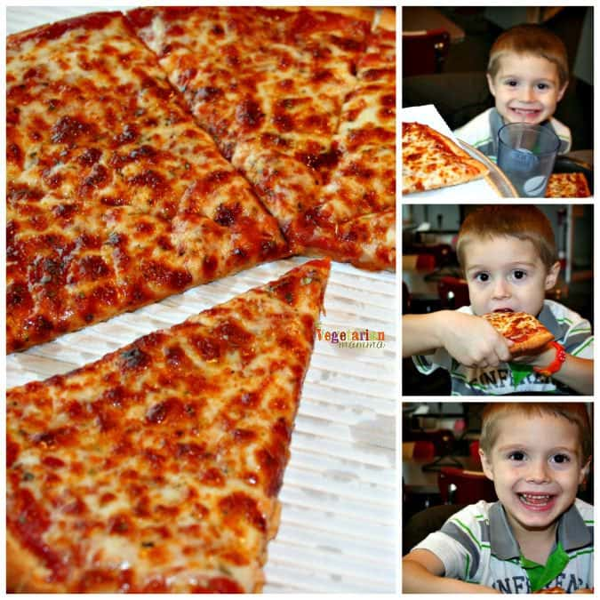 Eating Gluten Free Flyers Pizza #glutenfree #ohio #review #visitColumbus @vegetarianmamma.com