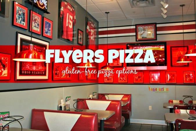 Flyers Pizza #ohio #glutenfree #pizza @vegetarianmamma.com