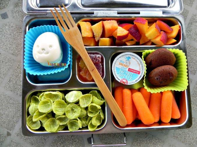 Lunch Ideas #BackToSchool #gf #glutenfree #nutfree @vegetarianmamma.com