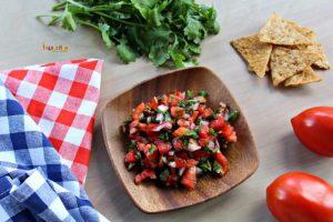 Salsa Fresca – Enjoy a fresh snack