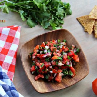 Salsa Fresca – Enjoy a fresh snack