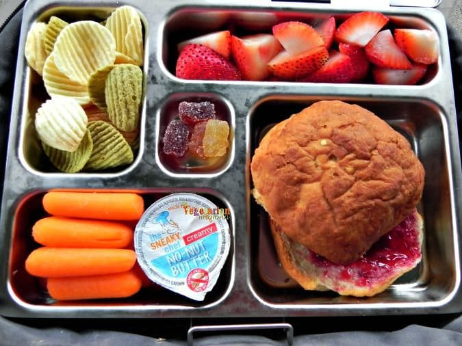 School Lunch Ideas #BacktoSchool #glutenfree #nutfree #dairyfree @vegetarianmamma.com