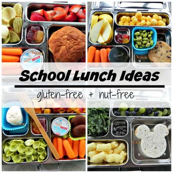 School Lunch Ideas #nutfree #glutenfree #backtoschool @vegetarianmamma.com