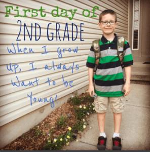 Started 2nd grade