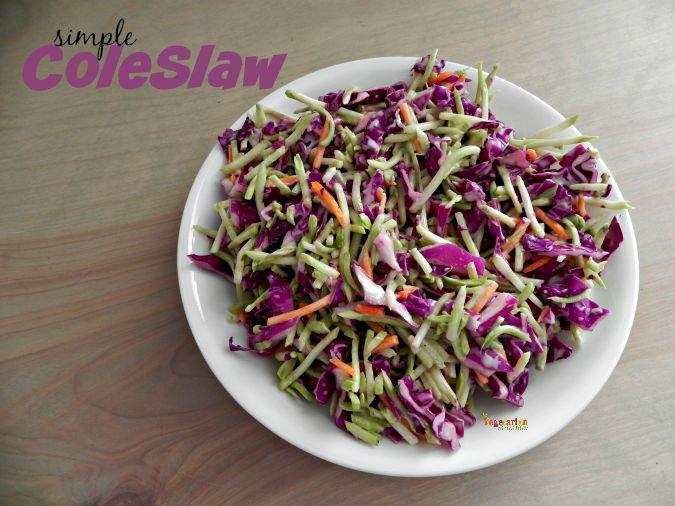 how to make coleslaw vegan