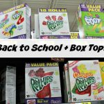 Back To School and Box Tops