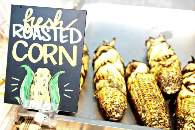 Whole Foods Easton Fresh Roasted Sweet Corn @vegetarianmamma.com