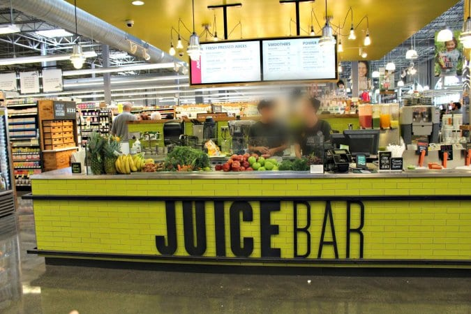 Whole Foods Easton #juiceBar @vegetarianmamma.com