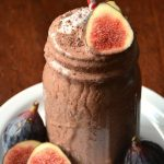 Frosty Fig Shake + Pure and Simple Paleo: a Low Starch Cookbook Review