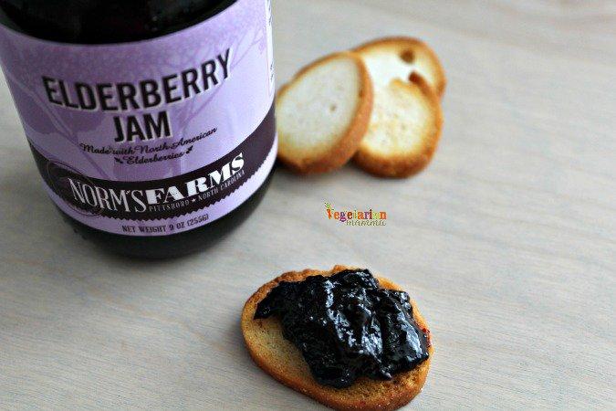 Norm Farms Elderberry #Jams @vegetarianmamma.com