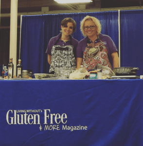 Gluten Free Recipes from the Cooking Demo #GFFAfest @glutenfreemore