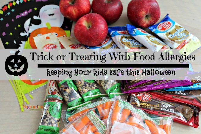 Trick Or Treating with Food Allergies @vegetarianmamma.com