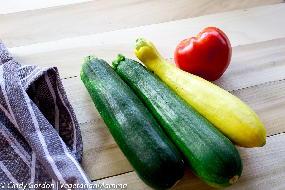 Zucchini Bake - a delicious side dish with simple ingredients