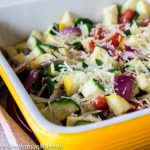 Zucchini Bake – A colorful side dish