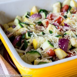 Zucchini Bake - a delicious side dish