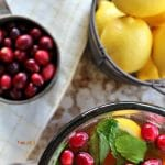 Cranberry Mint Tea – perfect for holiday celebrations