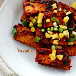 Pineapple BBQ Tofu – a delicious dinner