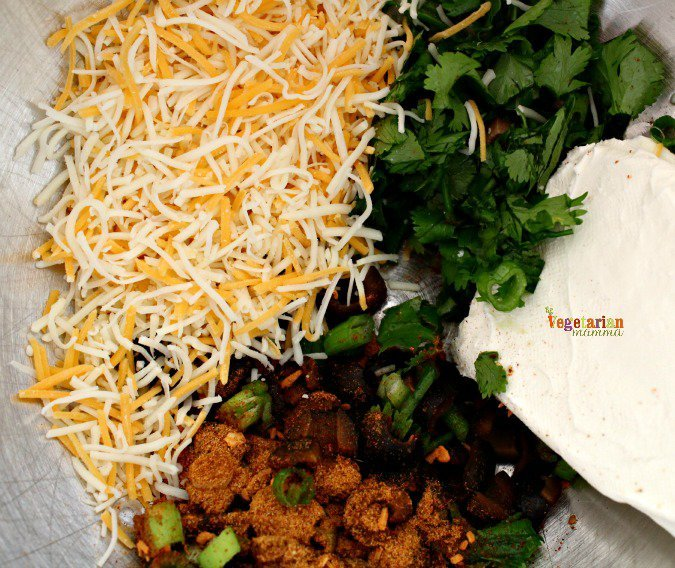 Taco cheese ball ingredients. Gluten free, nut free cheese ball.
