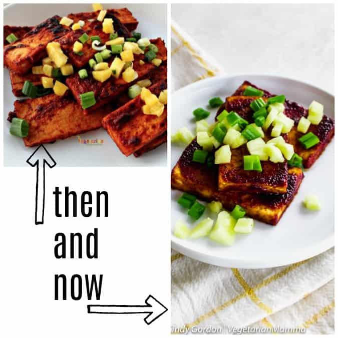 pineapple BBQ tofu