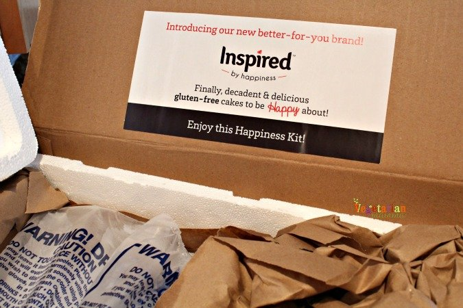 Inspired By Happiness Cakes @vegetarianmamma.com #shipped