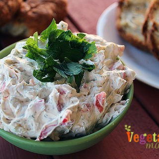 Vegetable Cream Cheese – savory and dairy-free