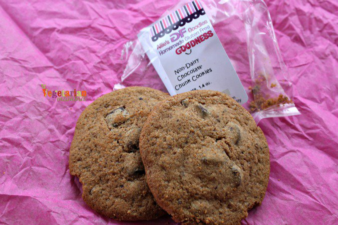 Allies Gf Goodies @vegetarianmamma.com Non Dairy Chocolate Chunks Cookies