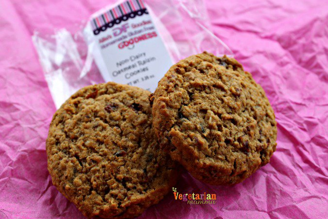 Allies Gf Goodies @vegetarianmamma.com Oatmeal Raisin