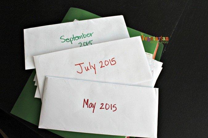 Blogging Business @vegetarianmamma.com #envelopes