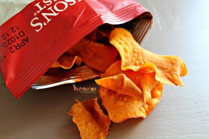 Jacksons Honest Chips @vegetarianmamma.com #chips #sweetpotato
