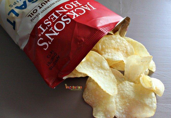 Jacksons Honest Chips @vegetarianmamma.com #potatochips