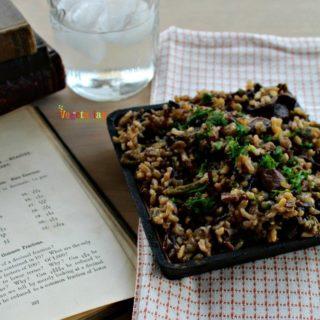 Mushroom Asparagus Wild Rice