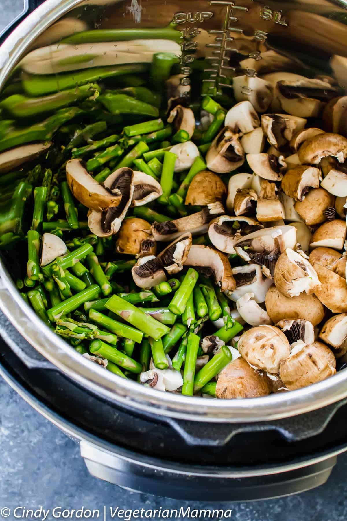 Mushroom and Asparagus Wild Rice