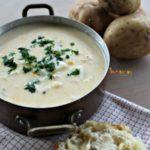 Rustic Potato Soup – Soup is ready! Grab a bowl!