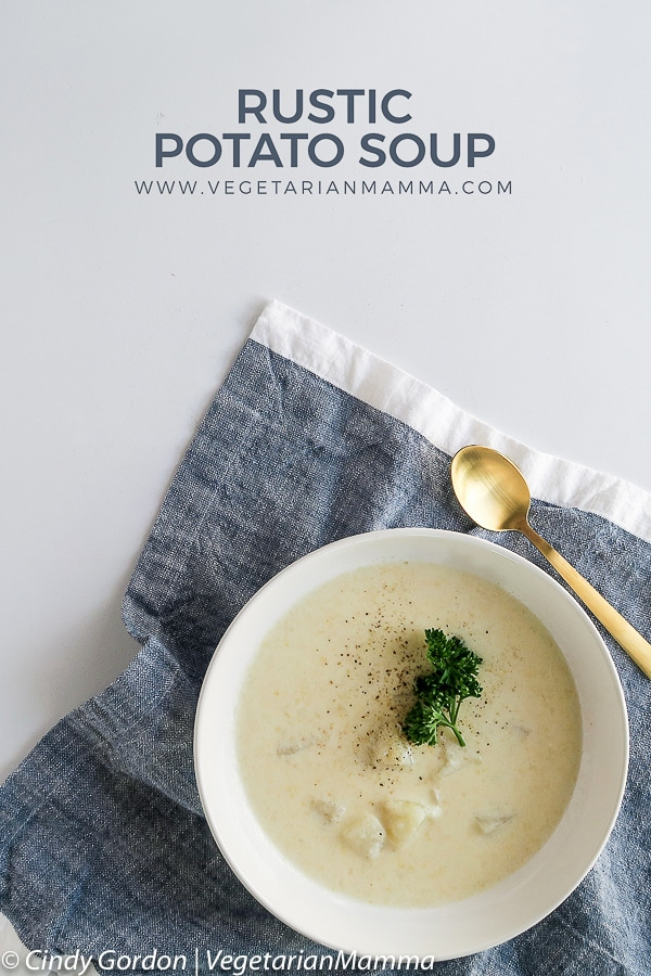 Rustic Potato Soup pin