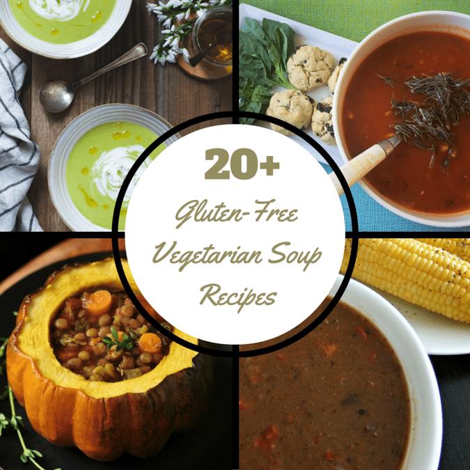 20+ Soup Recipes @vegetarianmamma.com #glutenfree #vegetarian