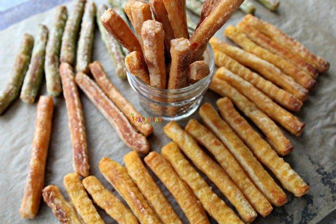 Veggie Fries Review @vegetarianmamma.com #fries