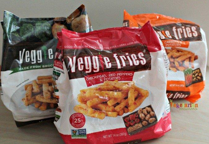 Veggie Fries Review @vegetarianmamma.com #veggiefries