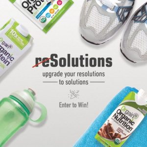 Healthy reSolutions With Orgain