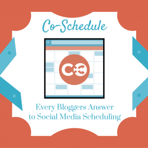 CoSchedule Saves Time Scheduling Social Media