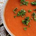 Creamy Tomato Soup @vegetarianmamma.com 1