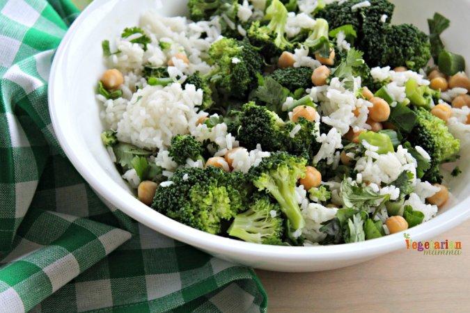 Honey Mustard Broccoli Bowl @vegetarianmamma.com 1