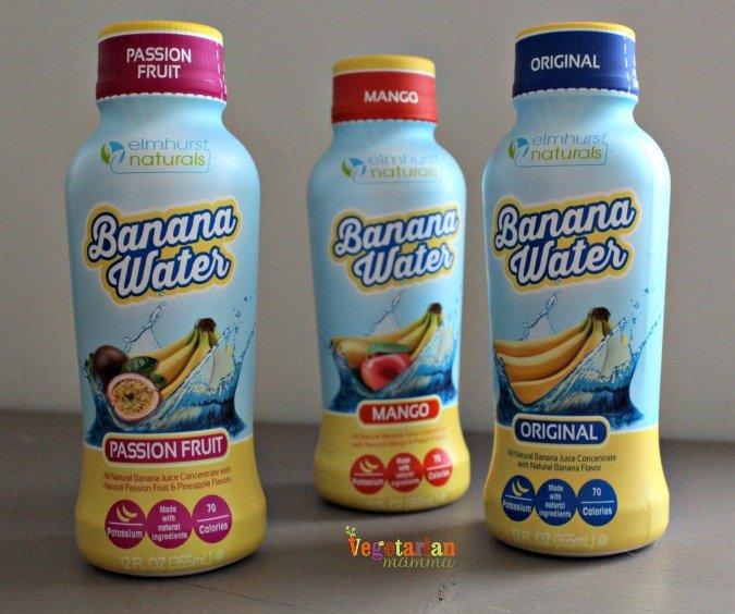 banana water @vegetarianmamma.com #banana