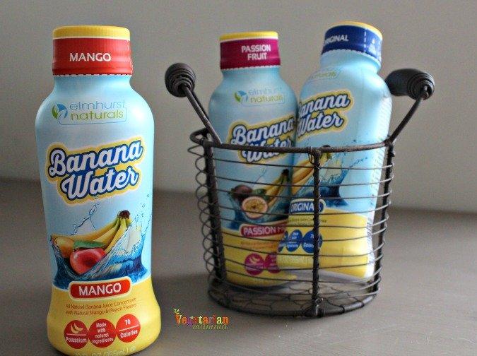 banana water @vegetarianmamma.com