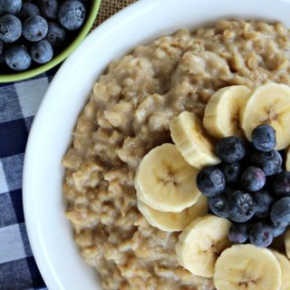 Banana Blueberry Oatmeal – A delicious start to your day!