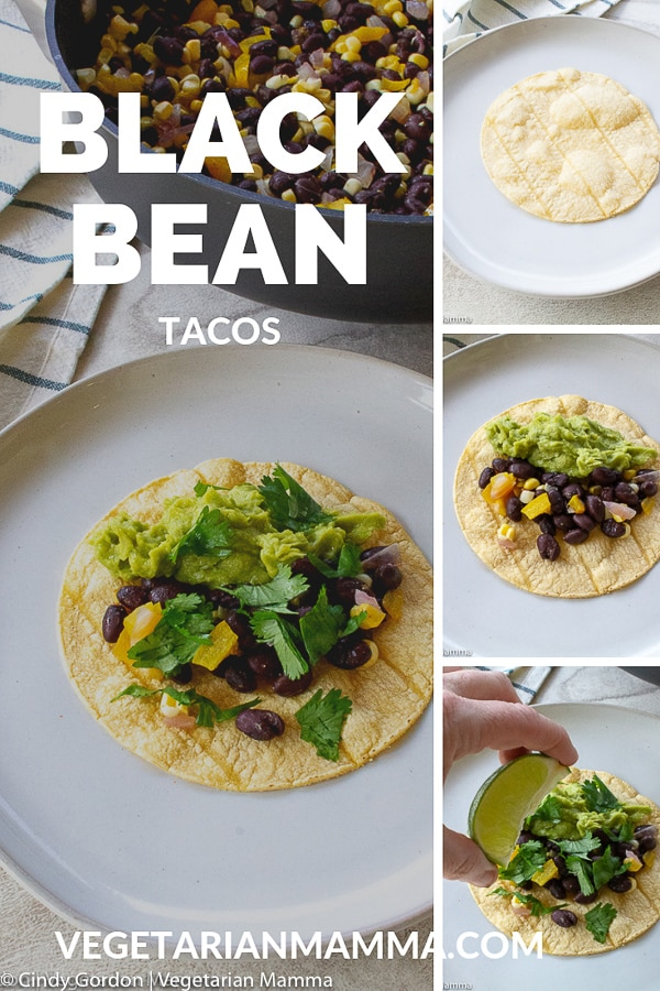 black bean taco pin