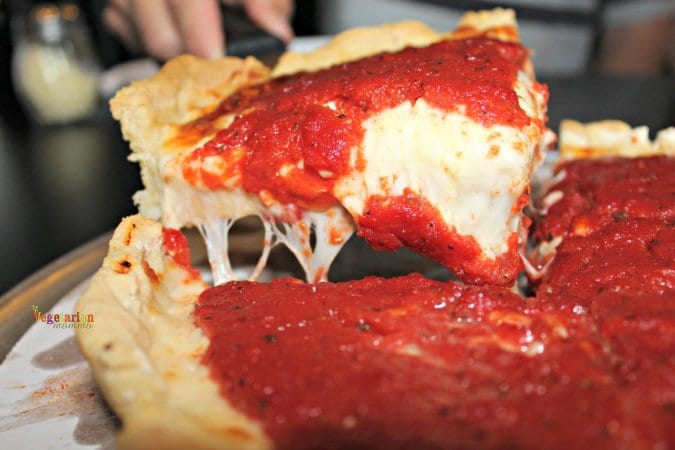 Crust 54 Restaurant Review @vegetarianmamma.com Slice of the Pie