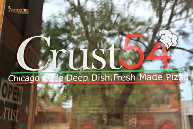 Crust 54 Restaurant Review @vegetarianmamma.com